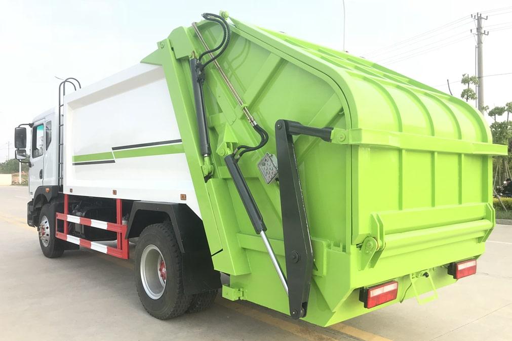 国六东风D9 12方压缩式垃圾车
